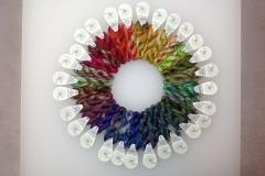 handgefärbte Stick-Garne